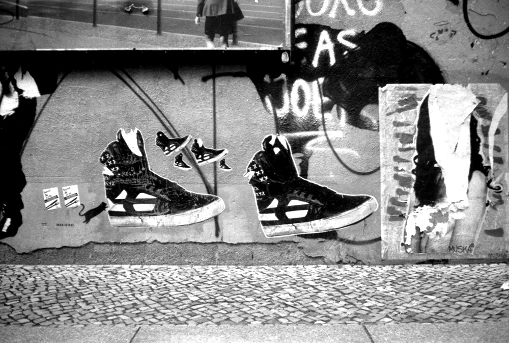 À Berlin, le street art est partout dans les rues.